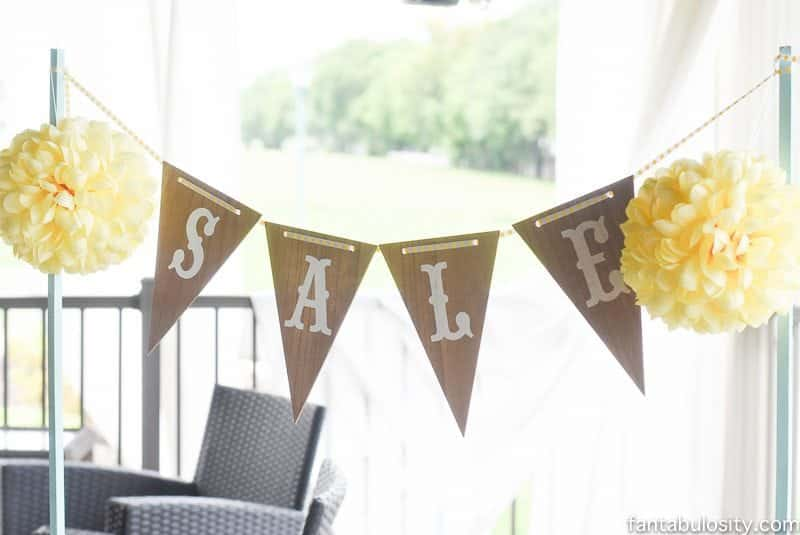 DIY Lemonade Stand sign ideas