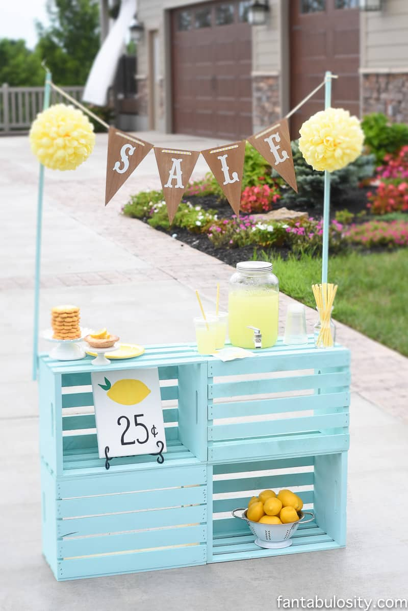 Lemonade stand ideas driverlayer search engine for Diy lemonade