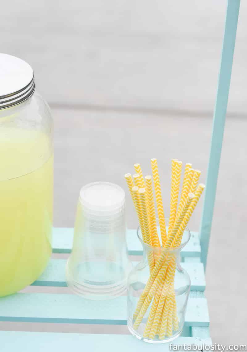 lemonade stand straws