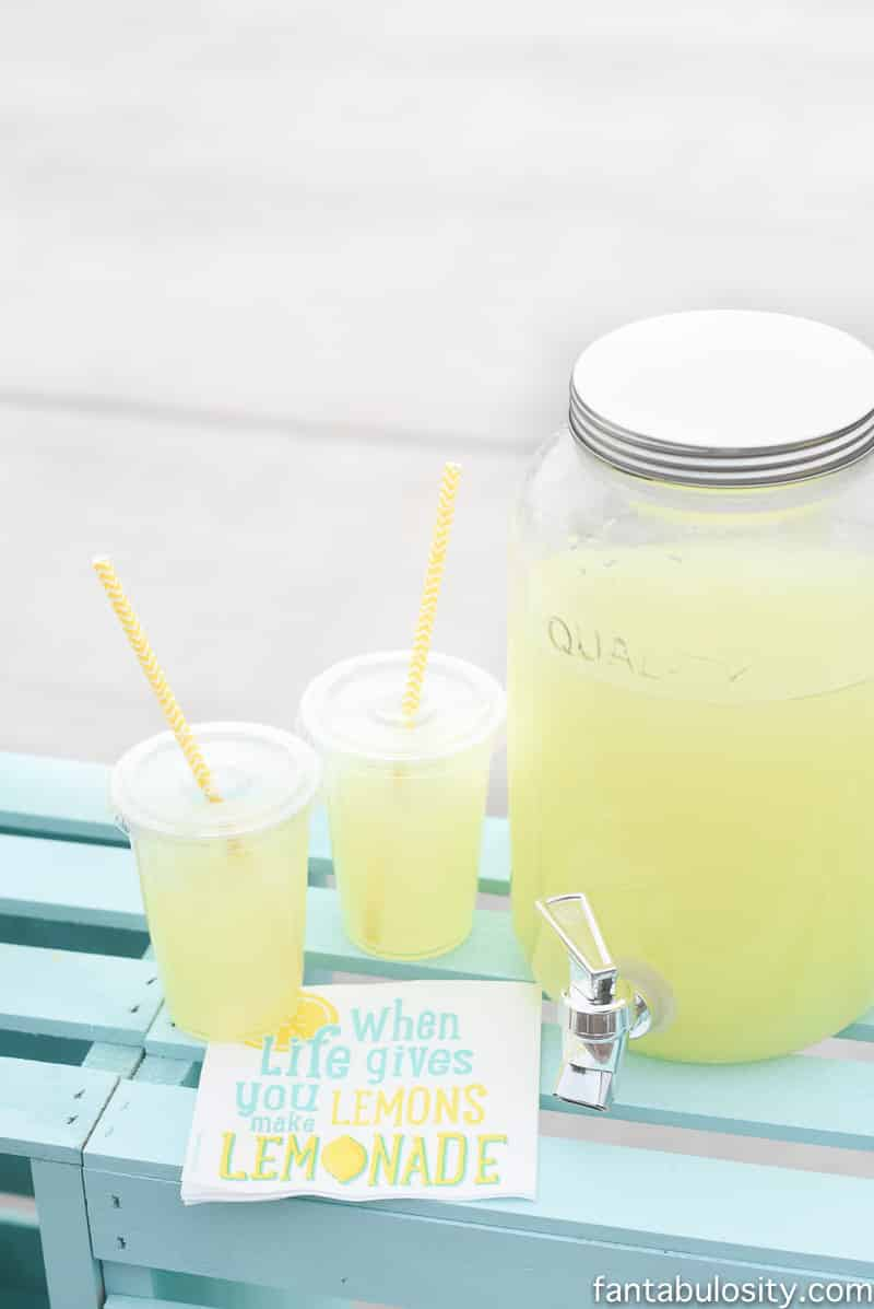 lemonade stand drink ideas