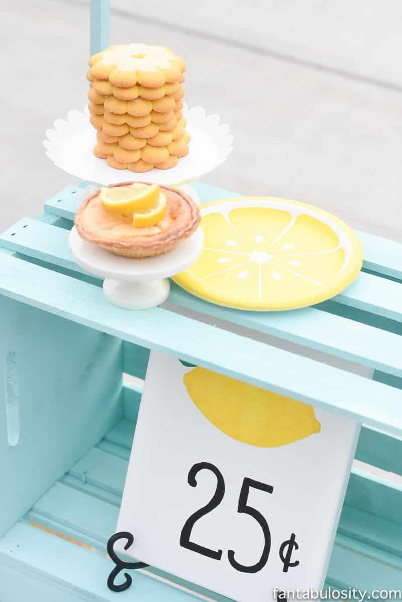 DIY Lemonade stand decorating ideas