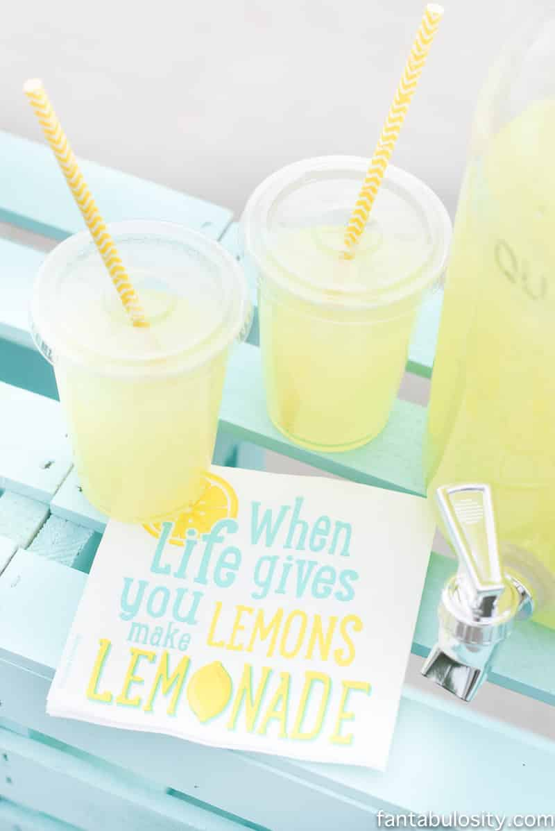 lemonade stand drink ideas