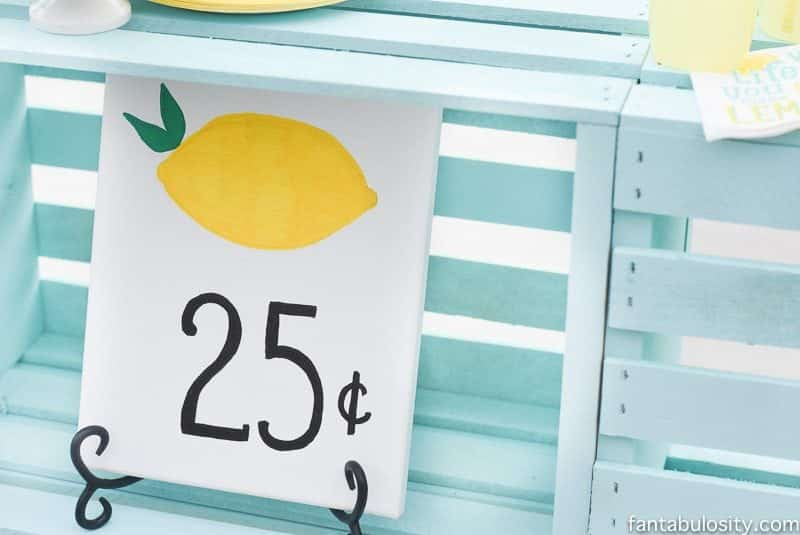 Lemonade stand sign ideas