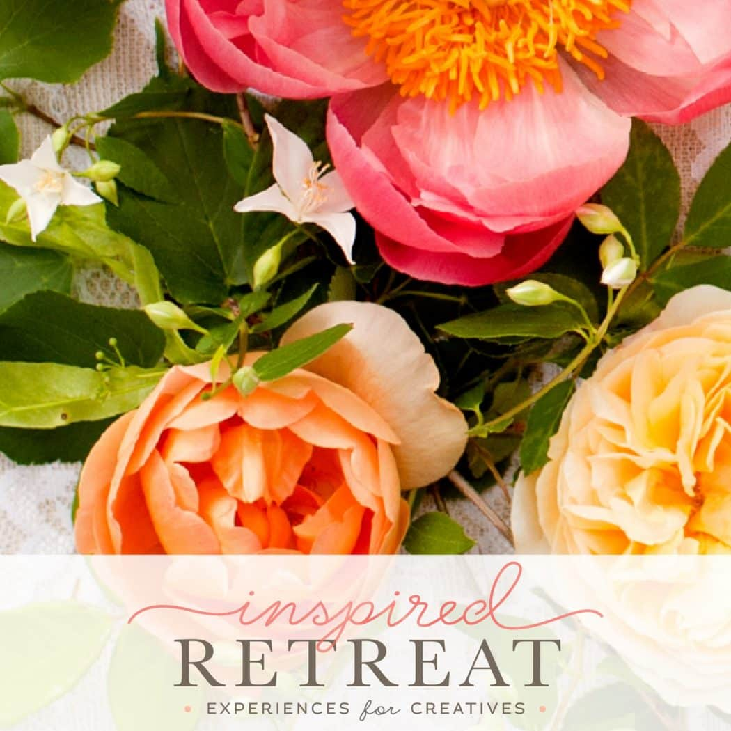 Inspired Retreat: Use code: FANTABULOSITY to get $200 off registration