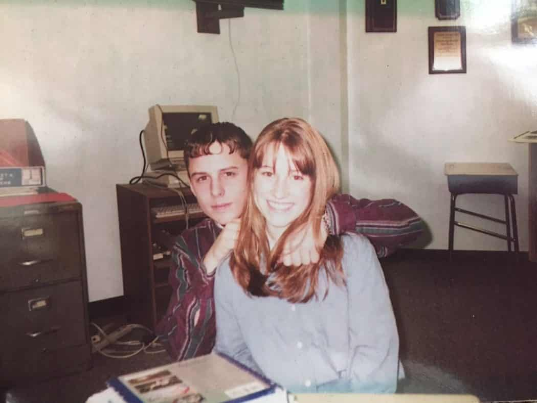 Matt and Jessica High School Picture