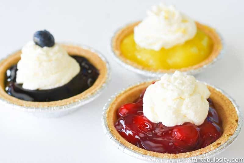 """No-Bake Mini Party Pies - For the """"non-baker"""""""