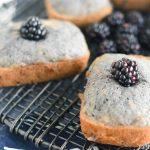 Blackberry-Flax Banana Bread