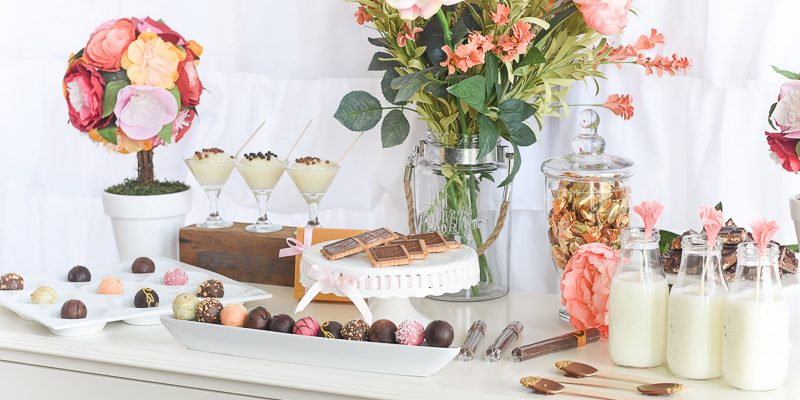 Chocolate Party and chocolate bar with Godiva Chocolate! OMG this sounds amazing. Would LOVE to go to a party like this! How easy too! fantabulosity