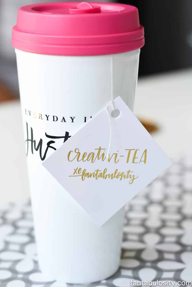 Creativi-TEA Custom Tea Bag Tag