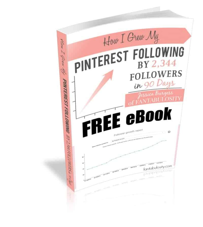 How I Grew my Pinterest Following by 2344 Followers in 90 Days. http://fantabulosity.com