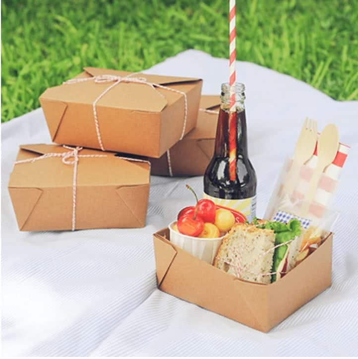 Super cute take out boxes. I love using these when I deliver food to someone.