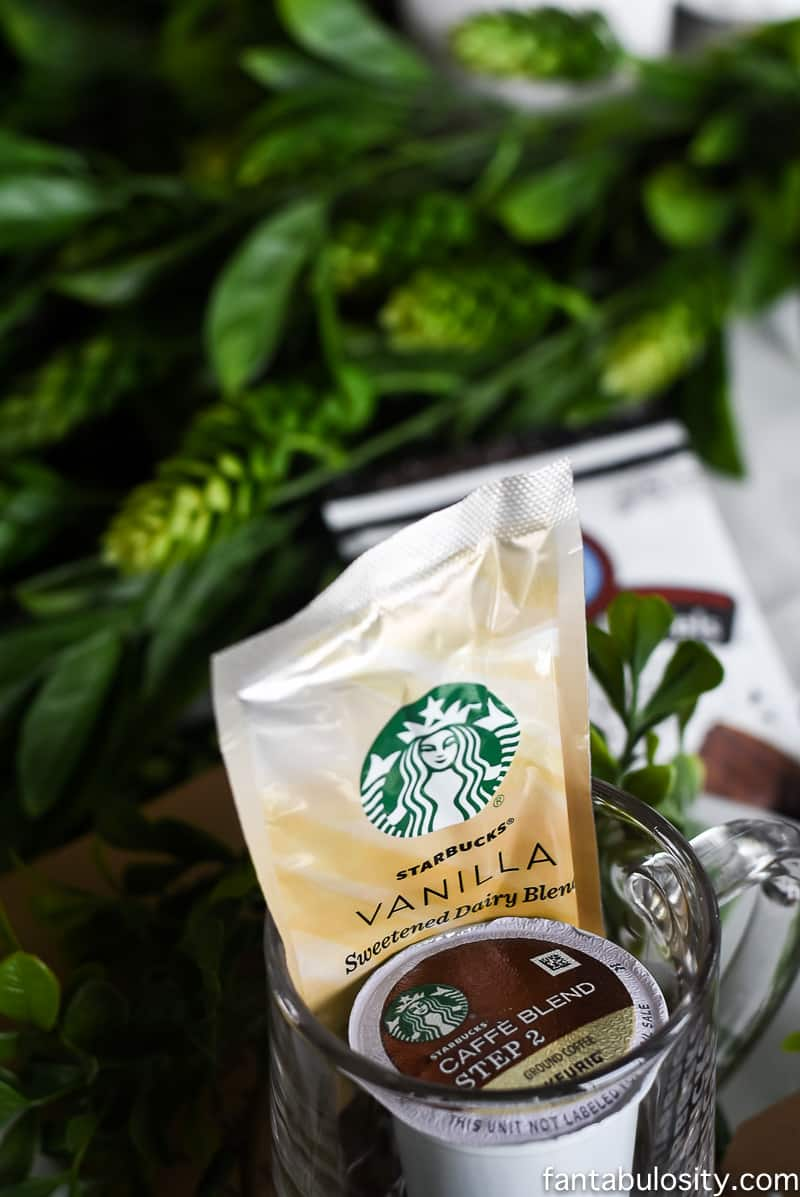 Brunch Party Ideas: Place Setting with Starbucks