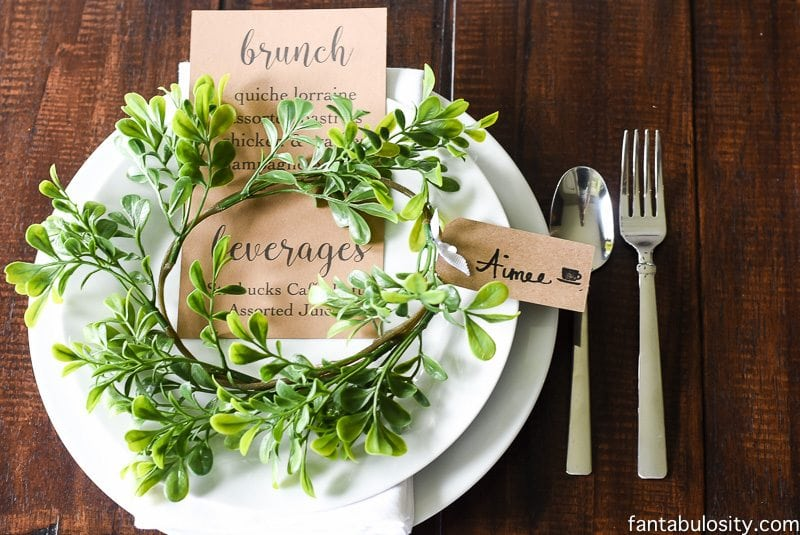 Brunch Ideas for a Brunch Party that can easily be recreated!