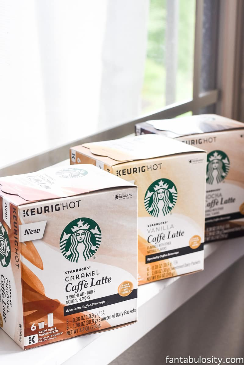 Brunch Party Ideas with coffee and starbucks latte