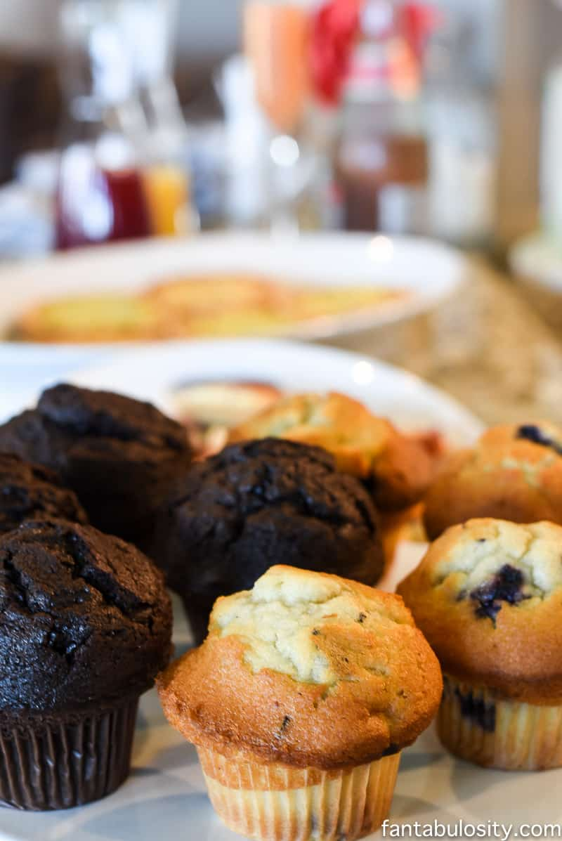 Brunch Menu Ideas and food for a brunch party