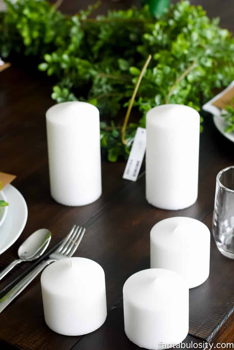 Decorating for a classic brunch party