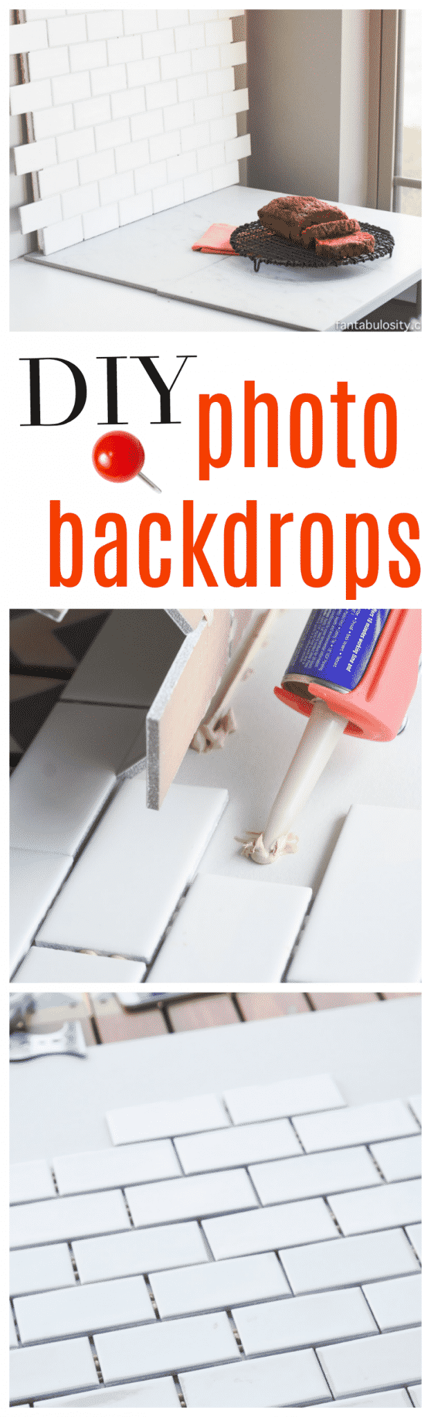 DIY Photo Backdrops for bloggers