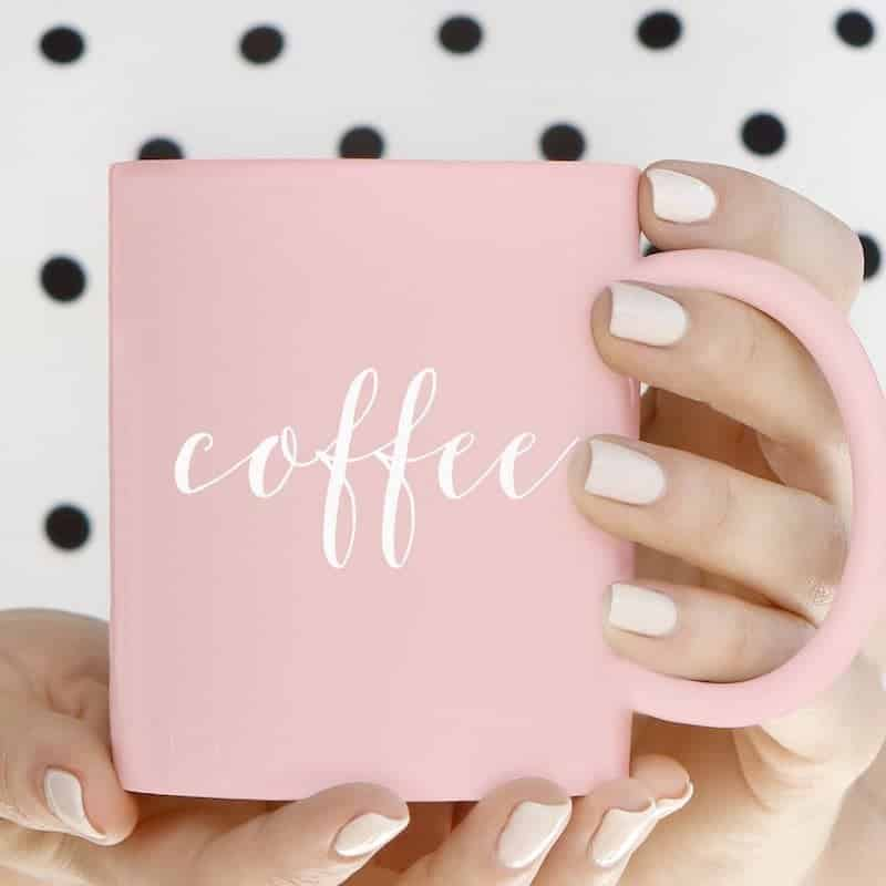 Pink Coffee Mug in the Fantabulosity Boutique http://fantabulosityboutique.com