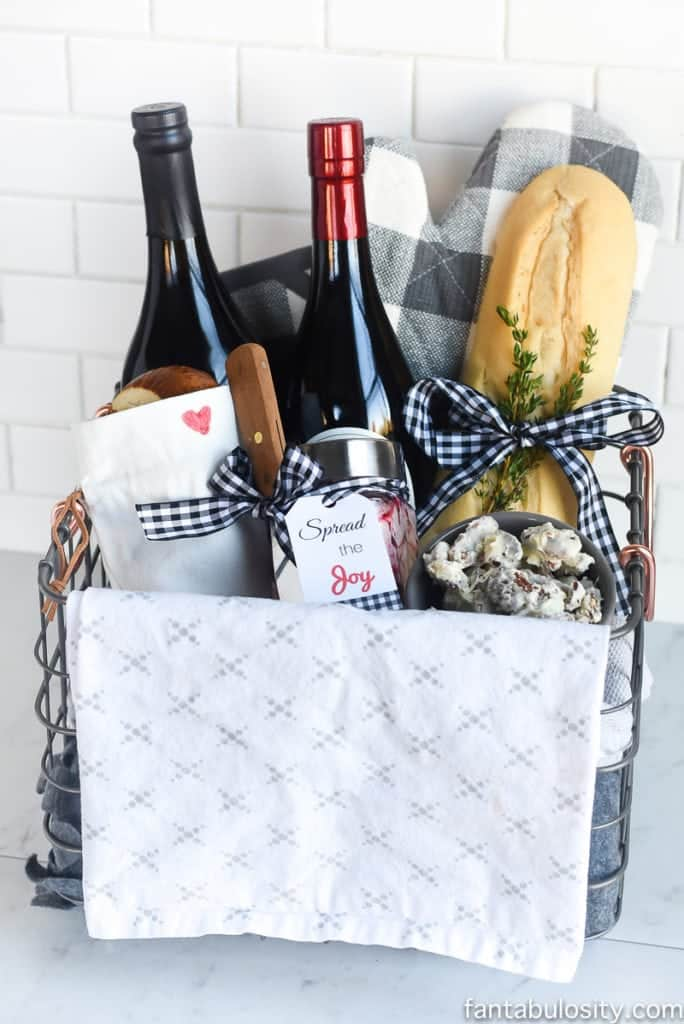 Bread Basket Hostess Gift Idea: DIY and FREE Printable!! fantabulosity