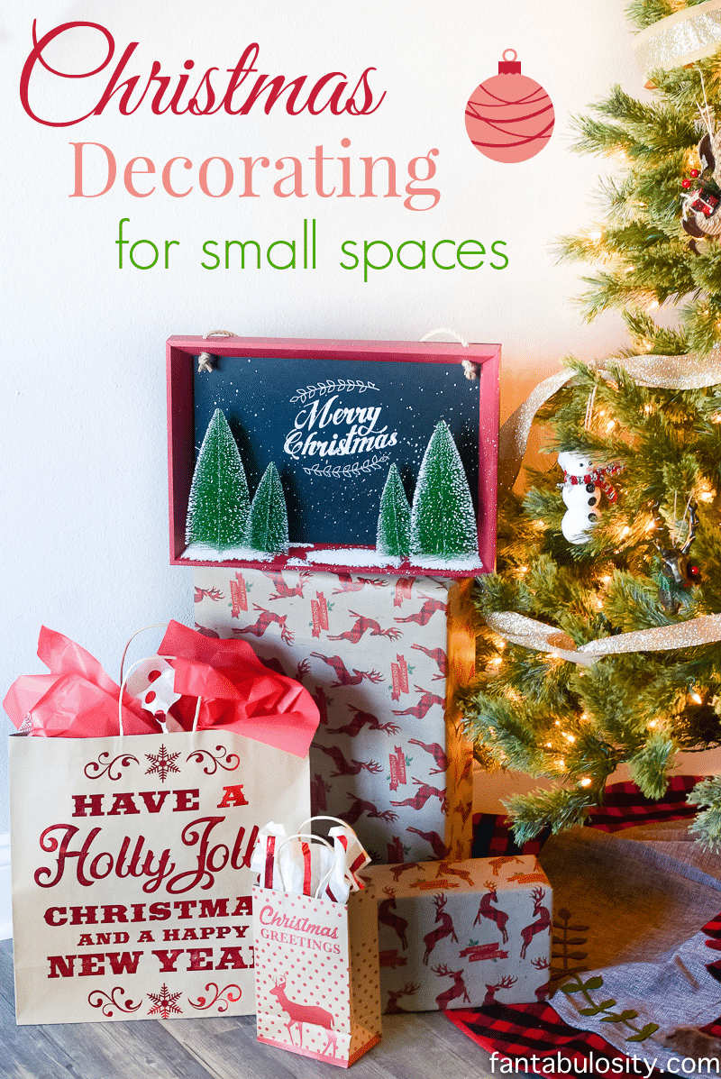 christmas decorating for small spaces christmas at the airbnb
