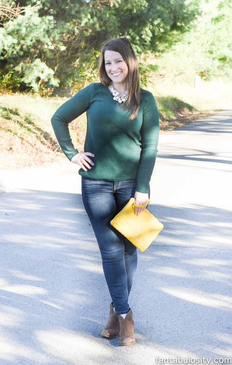 Stitch Fix November 2016: Fall fashion unboxing and try-on. Jessica Burgess of Fantabulosity