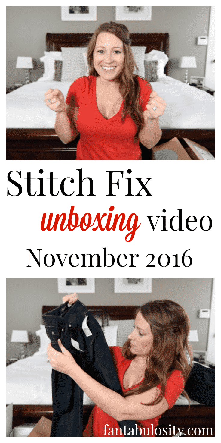 Her stitch fix unboxing video are back!!! Fall 2016 outfits for fall 2016 too!