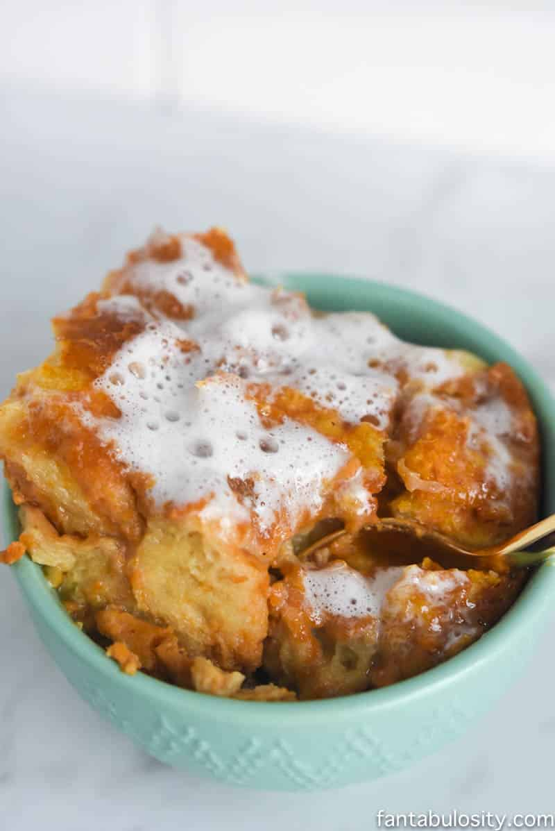 WHOA! This sounds amazing! Sweet Potato Casserole Bread Pudding Recipe