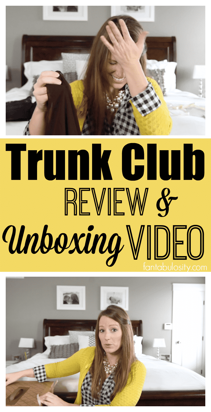 Trunk Club Review: December 2016 Unboxing Video