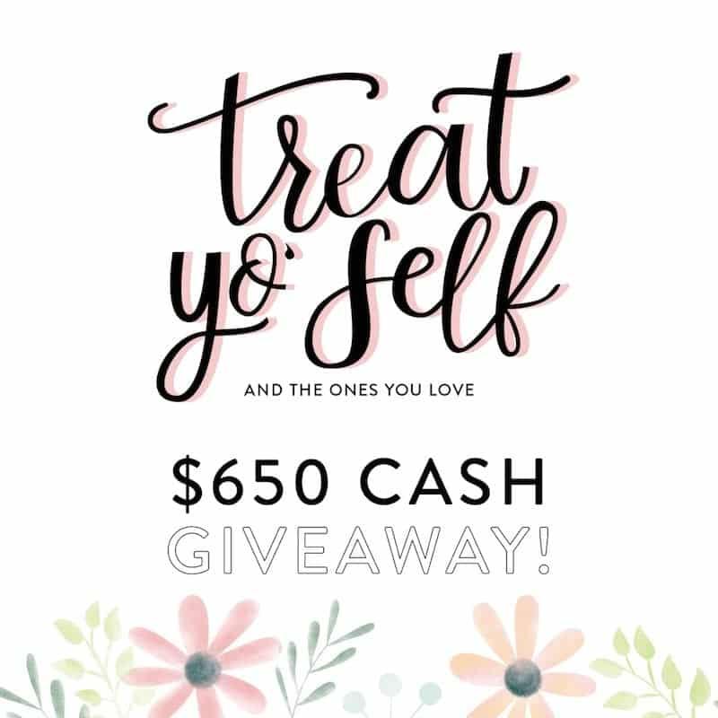 $650 Cash Giveaway