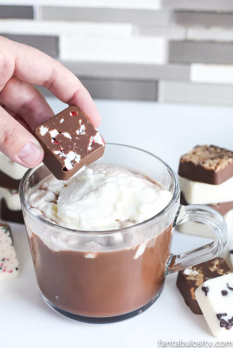 DIY Beverage Chocolate Melts: Coffee or Hot Chocolate Toppers! Fantabulosity