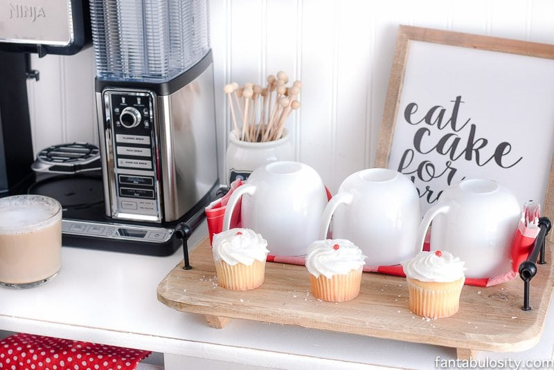 This Is Perfect For A Small E Diy Coffee Bar Ideas The Kitchen