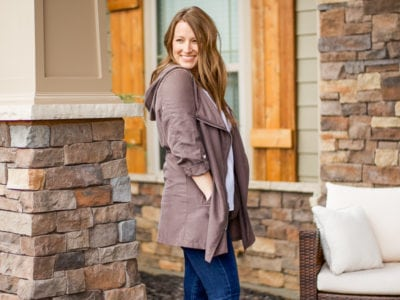 Dressy Trench + Winter Neutrals