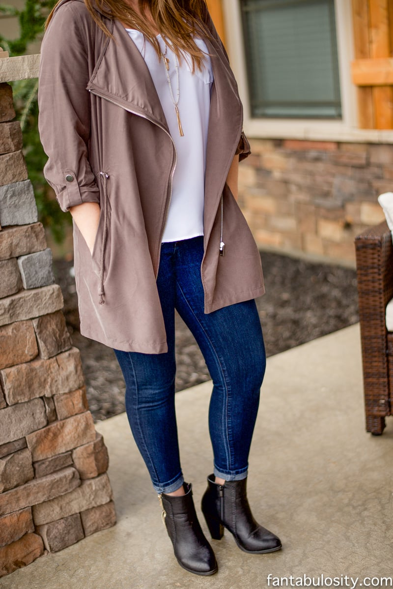 Dressy Trench and Winter Neutrals