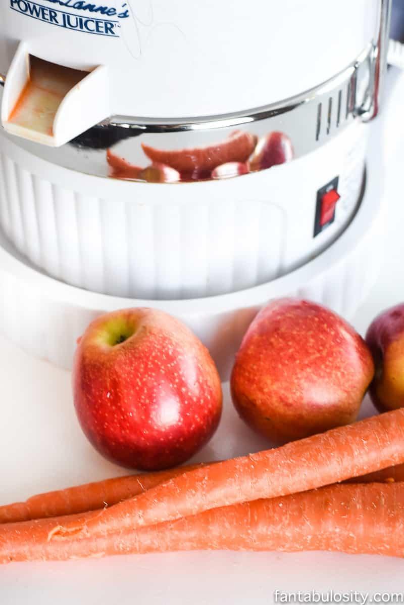 Fresh Juice Bar Carrot Apple Recipe YUM!!!