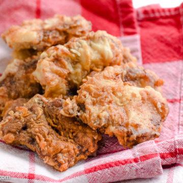 Venison Backstrap Recipe - Fried Deer Meat