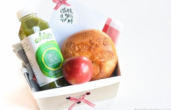Healthy Breakfast To Go: A Sweet Gesture