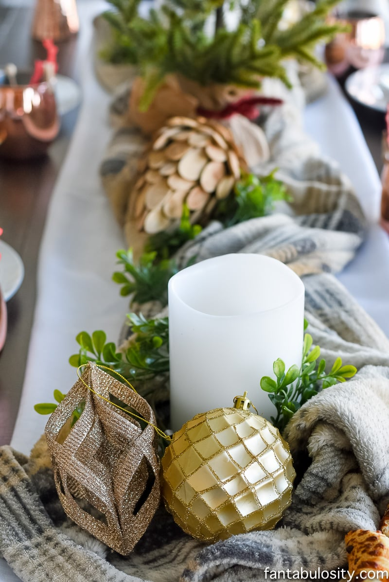 Cozy Tablescape + Girls Night In