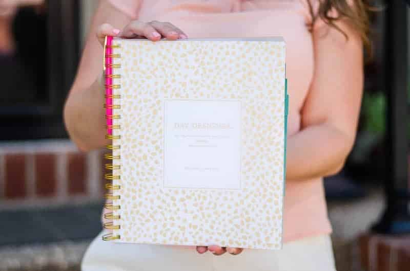Day Designer Planner Gold Dot: New Year Organization Ideas and tips!