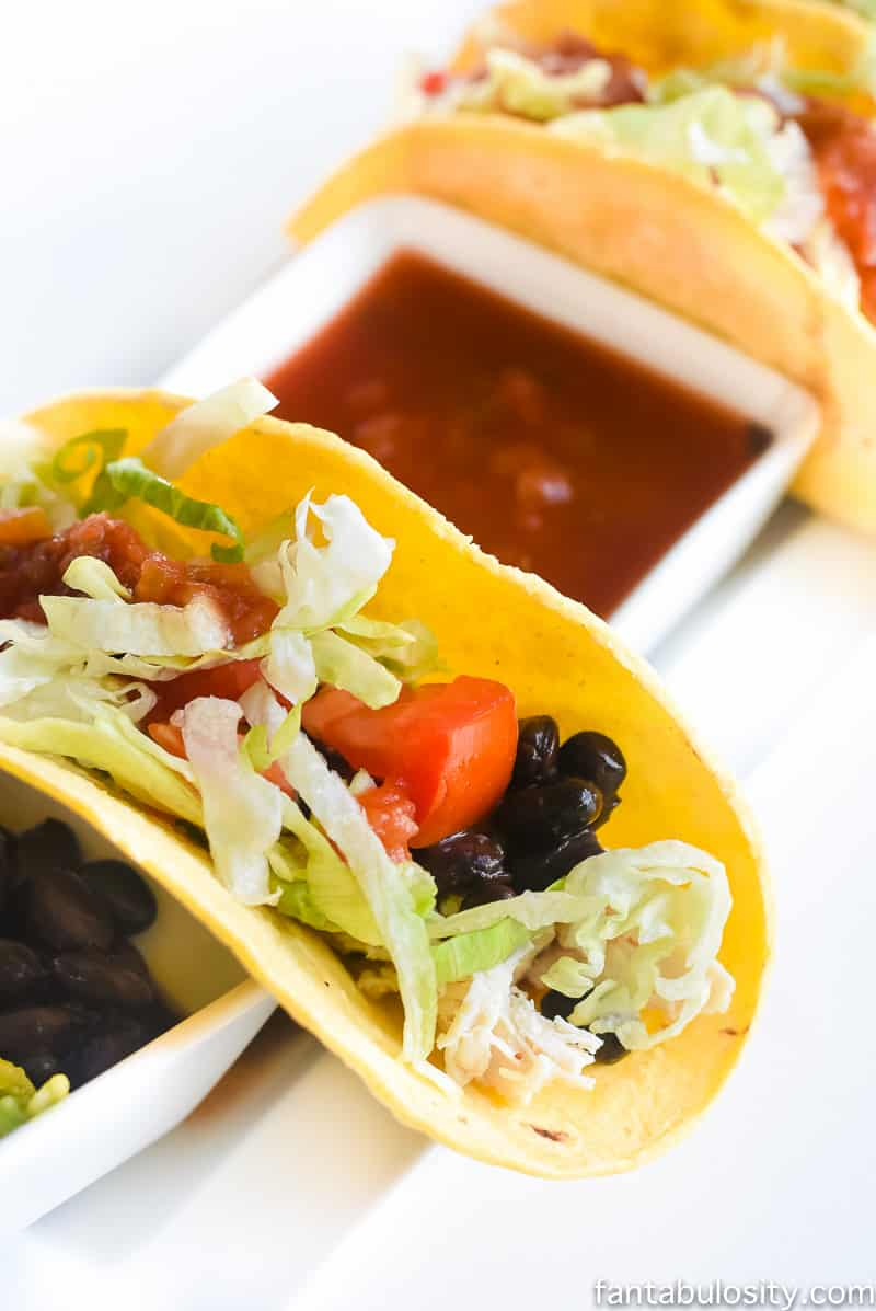 21 day fix dinner recipe quick easy soft chicken tacos forumfinder Images
