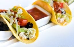 21 Day Fix Dinner Recipe: Quick & Easy Soft Chicken Tacos