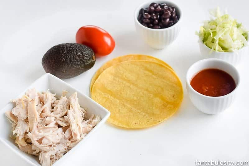 21 day fix dinner recipe quick easy soft chicken tacos forumfinder Choice Image