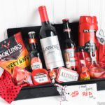 "Gift Idea for Him: ""I Think You're Red Hot"" Gift Basket Ideas"