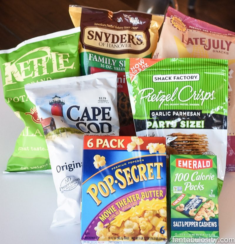 Snyder's Snacks for football party food