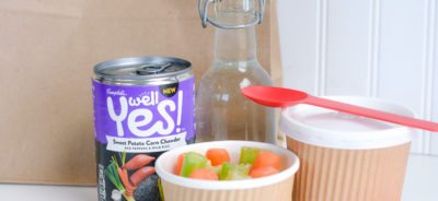 Healthy Lunch Ideas for work: Bagged Style