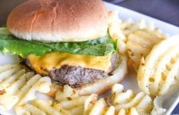 These were SO juicy and easy! Love what she uses. The BEST Cheeseburger recipe!