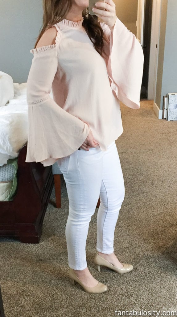 Trunk Club Review: January 2017 Ruffle Cold Shoulder: http://rstyle.me/~9vnGz