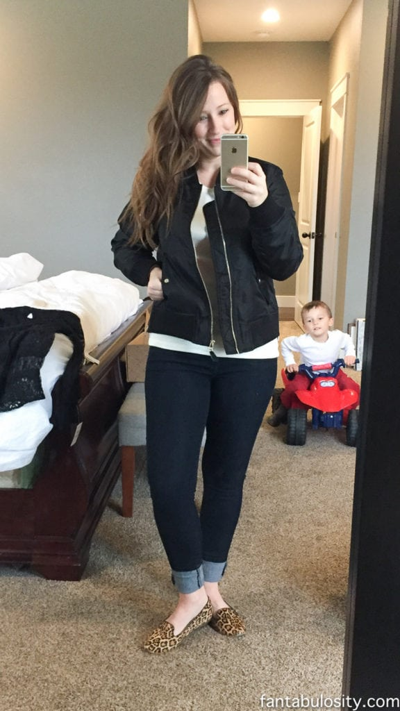 Trunk Club for women review January 2017 Steve Madden Bomber Jacket http://rstyle.me/~9vnKL