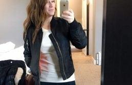 Trunk Club for women review January 2017 Steve Madden Bomber Jacket