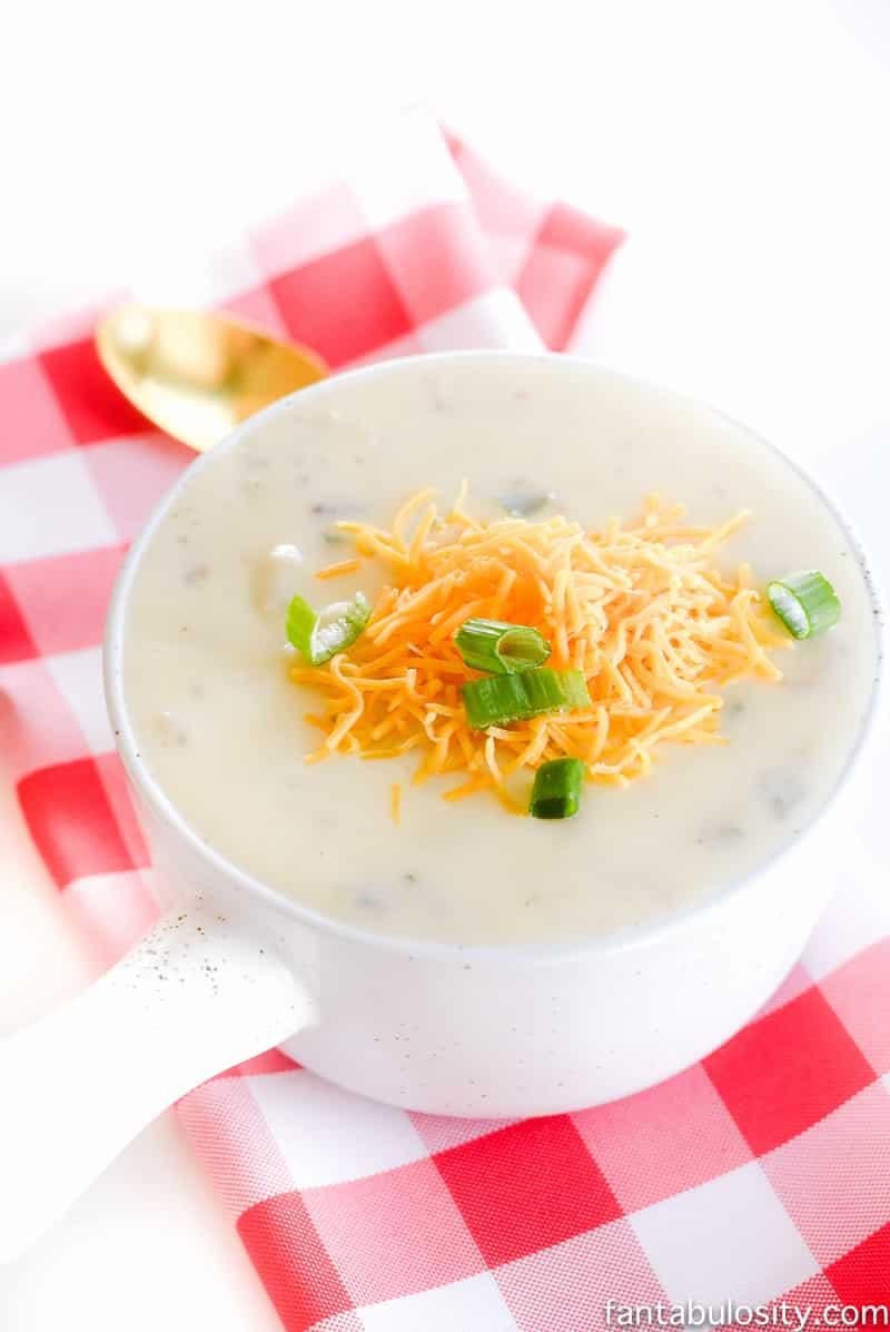 Easy Loaded Potato Soup Recipe Photo