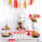 Chocolate Fountain Bar Ideas: A Modern, Rustic, & Pink Party Display